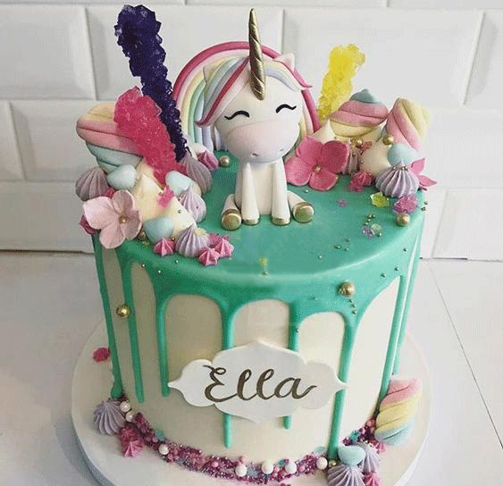 Unicorn Frenzy Cake