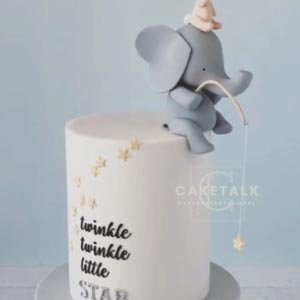 Bunny and ellie star cake for kids in dubai