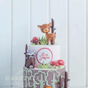 Cake for kids | Trees of delight cake for kids in dubai