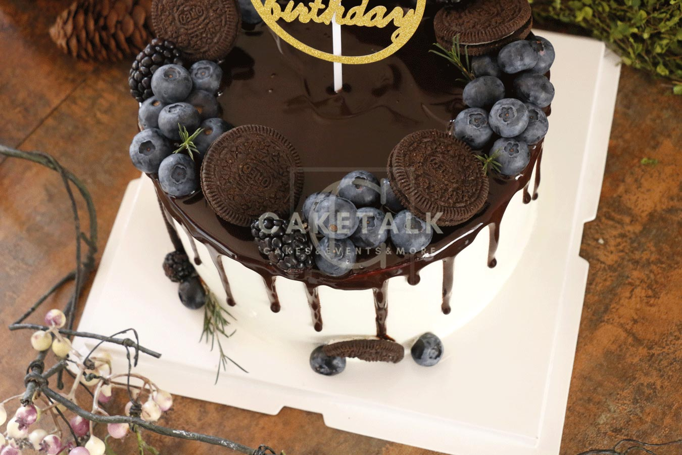 Birthday Cake | Oreoberry birthday cake in dubai