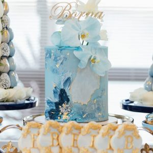 Ocean Orchid Cake | Customized Cake for Lady | Order Online in Dubai