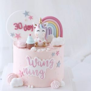 Unicorn Rainbow Cake - 3 Buy Cake for Kids Online in Dubai
