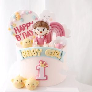 Baby Shower Cake for Girl buy cake for kids online